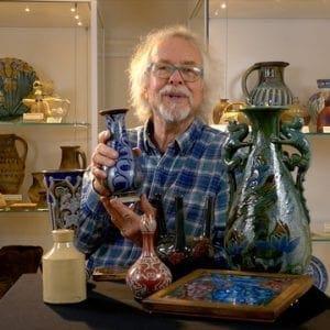 Julian Richards and pottery