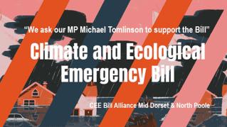 climate bill flyer