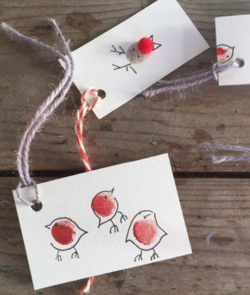 robin cards and tags